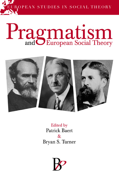 The Bardwell Press - Pragmatism and European Social Theory